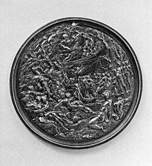Adam van Vianen - Plaque with the Wedding of Peleus and Thetis - Walters 542399.jpg