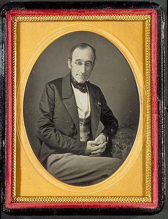Adrien-Henri de Jussieu - Daguerreotype of Adrien-Henri de Jussieu, 1851