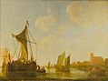 Aelbert Cuyp - Passage Boat on the Maas WLC WLC P138.jpg