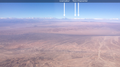 Aerial view of the Andes seen from the vicinity of Calama, Chile.png