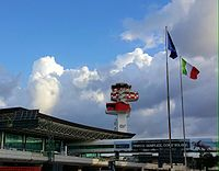 Aeroporto Fiumicino - Torre ENAV ristrutturata 2015.jpeg