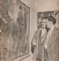 Affandi in Paris Exhibition, Indonesian Affairs April-May 1953, front cover.jpg