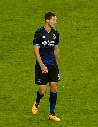 François Affolter - Playing for San Jose Earthquakes in 2017