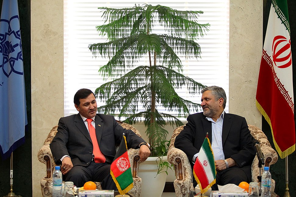 Afghan Consul General met with the Mayor of Mashhad - Seyyed Sowlat Mortazavi and Mohammad Amin Seddighi 02 (1)