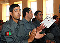Afghan National Police graduate six-week basic training course (4842906535).jpg