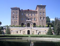 The Castle of Agliè is one of the residences of the Royal House of Savoy.