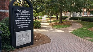 Agnes Scott College - Agnes Scott College Mission Statement
