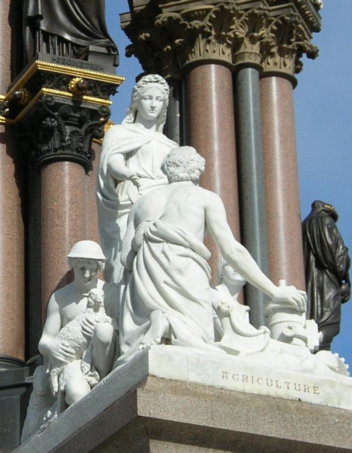 Agriculture group (Albert Memorial)