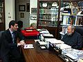 Ahmet Azimov with Sheikh Qaradawi.jpg