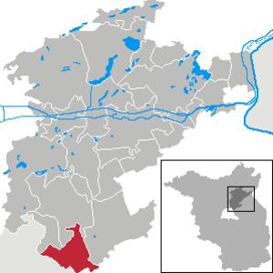 Ahrensfelde - Image: Ahrensfelde in BAR