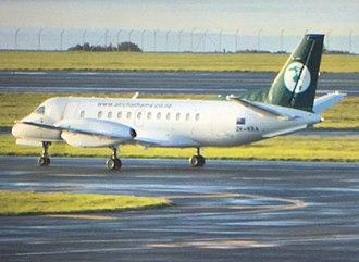 Air Chathams - Air Chathams Saab 340 at Auckland Airport in 2016