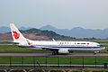 Air China Boeing 737-89L(WL) B-5682 (8744728616).jpg