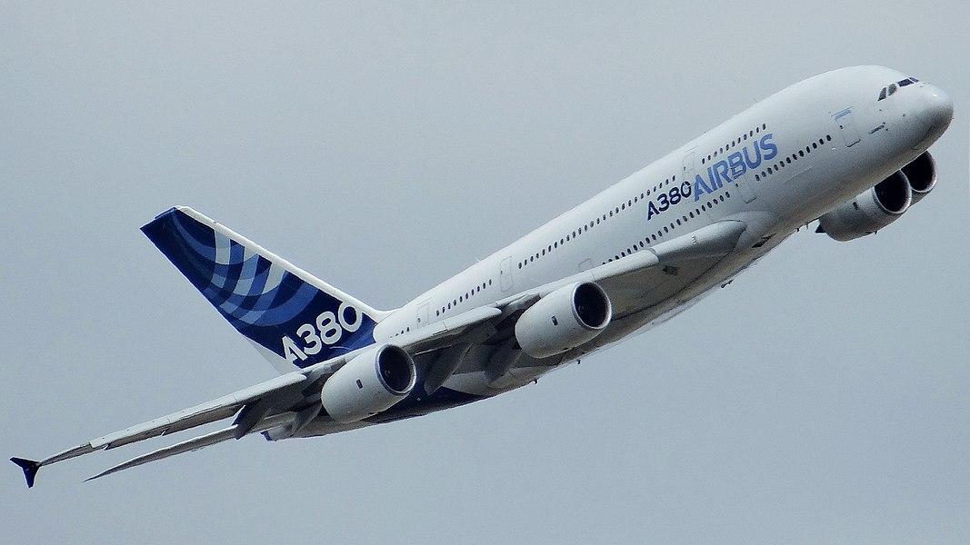 Airbus A380 F-WWOW at Paris Air Show 2017