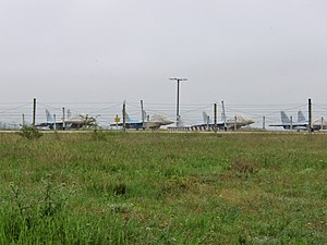 Sevastopol International Airport - MiG-29s stationed at Belbek