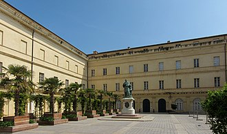 Faesch - The Fesch Palace in Ajaccio, today the Musée Fesch