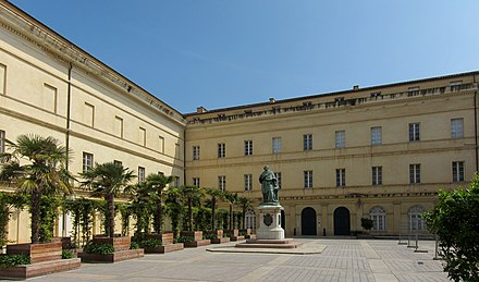 The Fesch Palace in Ajaccio, today the Musee Fesch Ajaccio musee Fesch.jpg