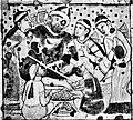 Ajanta Cave 1 ceiling Dignitary in Persian attire.jpg