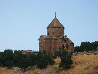 Conical roof - Image: Akhtamar Surb Khach Armenian Church