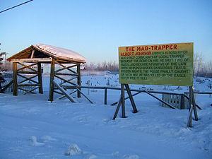 Aklavik - Mad Trapper grave