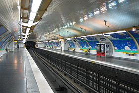Image illustrative de l'article Alésia (métro de Paris)