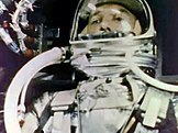 Alan Shepard on board Freedom 7