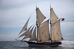 definition of headsail