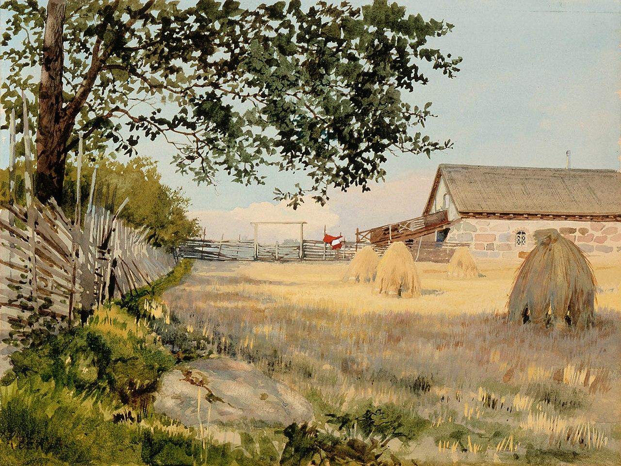 Альберт Николаевич Бенуа - Финский пейзаж - A II 788 - Национальная галерея Финляндии.jpg
