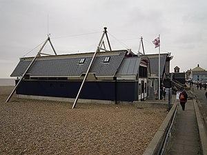 Aldeburgh Lifeboat Station - Aldeburgh lifeboat station.
