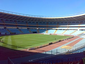 Aleppo International Stadium, day view, 2009 (1).jpg