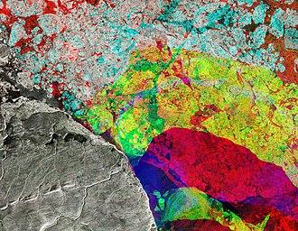 Sentinel-1 - Image: Alert, Canada ESA375402