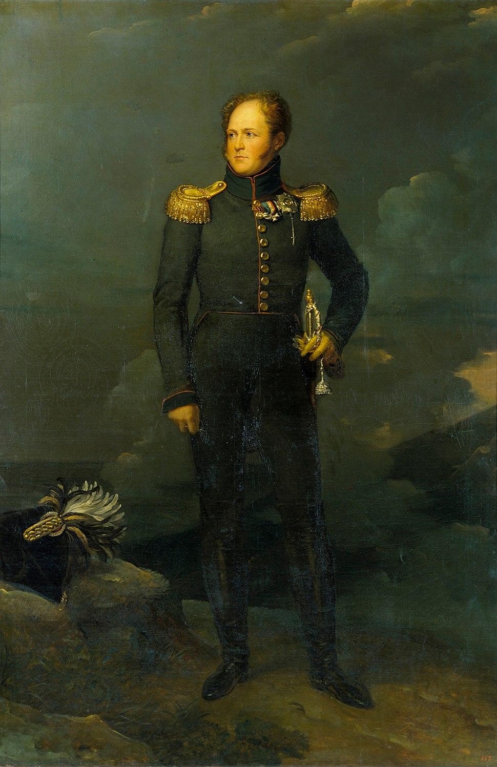 Alexander I by François Gérard