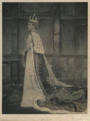 Alice Hughes - Image: Alexandra of Denmark (1902)