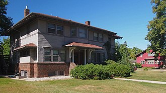 National Register of Historic Places listings in Douglas County, Minnesota - Image: Alexandria Residential Historic District