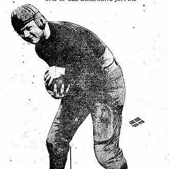 1917 College Football All-Southern Team - Alf Adams