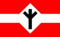Algiz rune on flag - Algiz-Rune auf Flagge.png