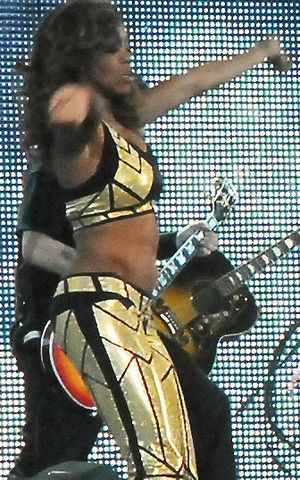 Alicia Fox - Fox at the WrestleMania XXV event in April 2009
