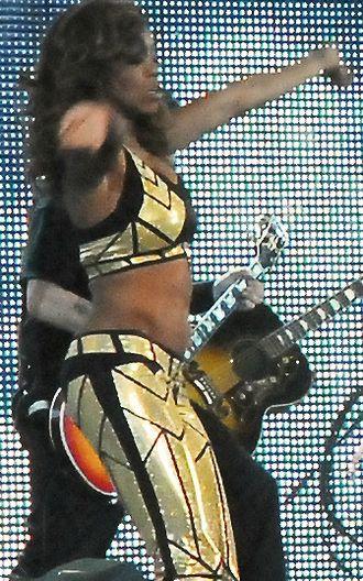 Alicia Fox - Fox at the WrestleMania XXV event in April 2009