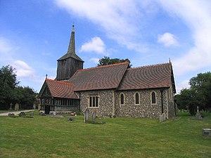 Doddinghurst - Image: All Saints Church, Doddinghurst, Essex geograph.org.uk 38141