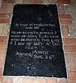 All Saints Church, Wacton, Norfolk - Ledger slab - geograph.org.uk - 1029459.jpg