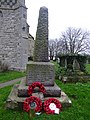 All Saints Church, War Memorial, Barling Magna, Essex - geograph.org.uk - 299402.jpg