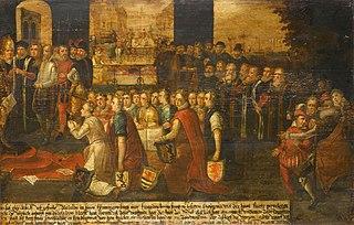 Allegory on the tyranny of the Duke of Alva in the Netherlands