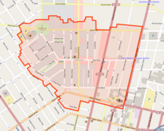 Allentown Historic District map 2012.png