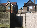 Alleyway from Southborough Car Park - geograph.org.uk - 1731738.jpg