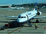 Alliance Air Fokker 70 VH-JFB at BNE (28688226202).jpg
