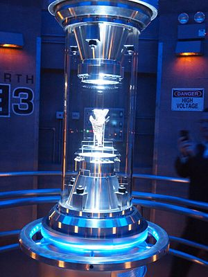 Transformers: The Ride - AllSpark in the queue for the ride