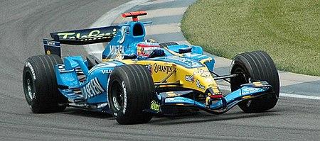 Calificación del Gran Premio de los Estados Unidos de 2005