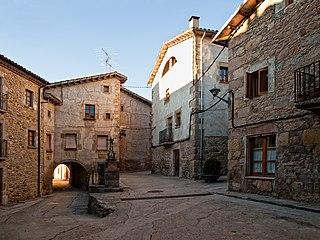 Alpens Municipality in Catalonia, Spain