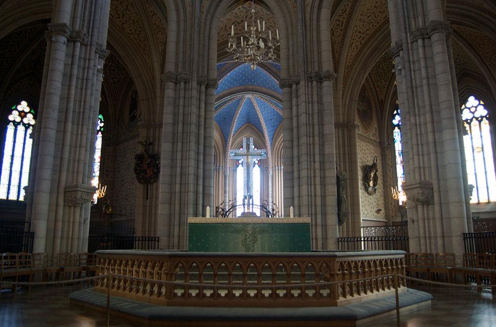 Altar, Uppsala Cathedral