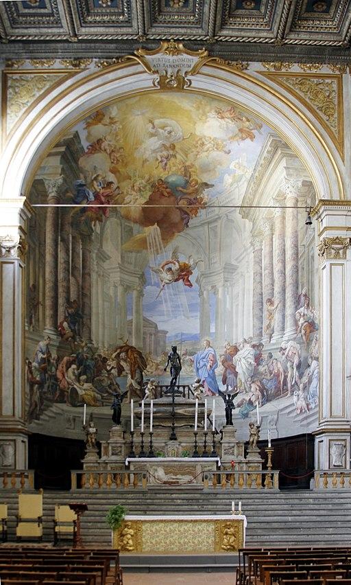 Altar - Santissima Annunziata - Siena 2016