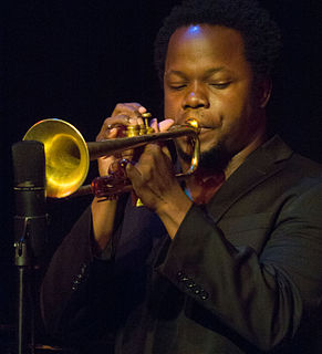 Ambrose Akinmusire American jazz trumpeter